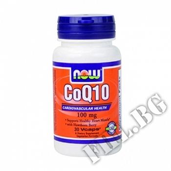 Съдържание » Цена » Прием » CoQ10 30 мг - 120 капсули