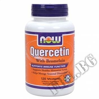 Съдържание » Цена » Прием »  Quercetin with Bromelain