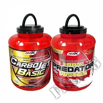 Съдържание » Цена » Прием » 100% Predator Protein and CarboJet Basic