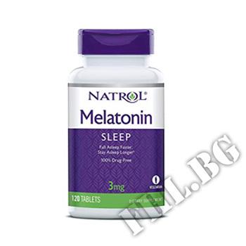 Съдържание » Цена » Прием » Melatonin 3 mg 120 tabs