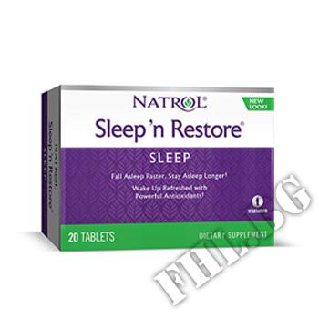 Действие на Sleep N Restore мнения.Най-ниска цена от Fhl.bg-хранителни добавки София