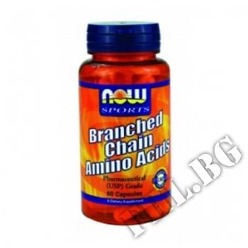 Действие на Branched Chain Amino Acids 60 caps мнения.Най-ниска цена от Fhl.bg-хранителни добавки София