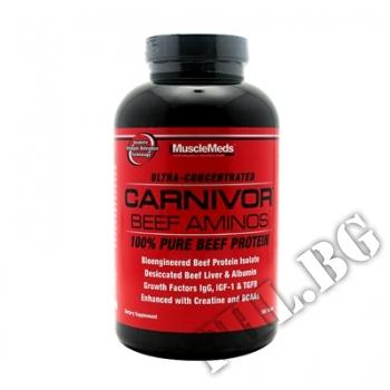 Съдържание » Цена » Прием » Musclemeds Carnivor Beef Aminos