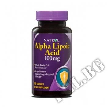 Съдържание » Цена » Прием » Alpha Lipoic Acid 100капс