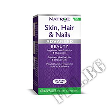 Съдържание » Цена » Прием »  Skin Hair Nails 60 caps