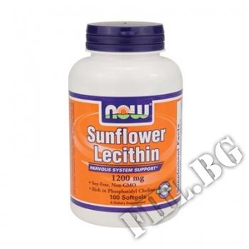 Действие на Sunflower Lecithin 1200 mg 100 Softgels мнения.Най-ниска цена от Fhl.bg-хранителни добавки София