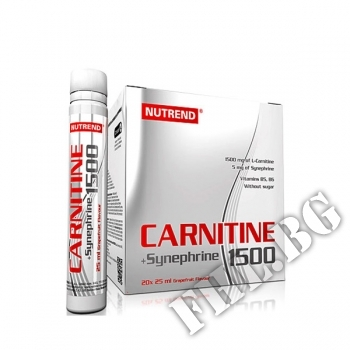 Съдържание » Цена » Прием » Carnitin 1500 + synephrine
