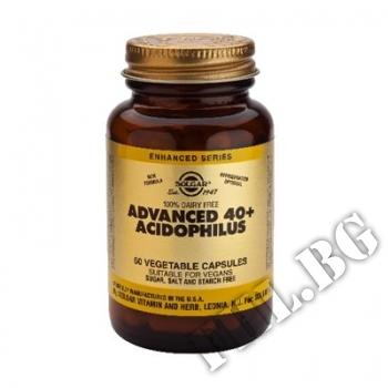 Съдържание » Цена » Прием »  Advanced 40+ Acidophilus 60 caps