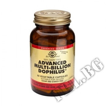 Действие на Advanced Multi-Billion Dophilus Solgar  мнения.Най-ниска цена от Fhl.bg-хранителни добавки София