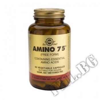 Съдържание » Цена » Прием » Amino 75 Solgar