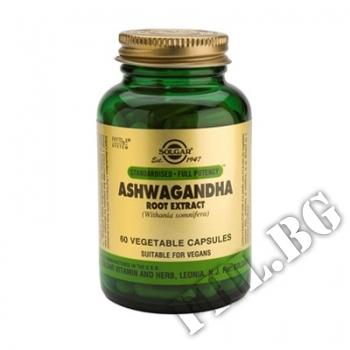 Действие на Ashwagandha Root Extract Solgar  мнения.Най-ниска цена от Fhl.bg-хранителни добавки София