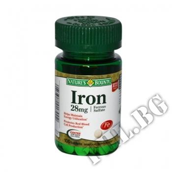 Действие на Iron 28 mg 90 caps мнения.Най-ниска цена от Fhl.bg-хранителни добавки София