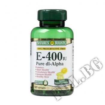 Действие на Vitamin E 400 мнения.Най-ниска цена от Fhl.bg-хранителни добавки София