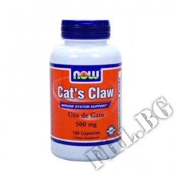 Действие на Cat's Claw NF 100 мнения.Най-ниска цена от Fhl.bg-хранителни добавки София