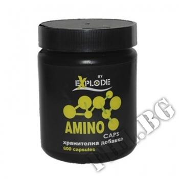Съдържание » Цена » Прием » Amino Caps EXPLODE