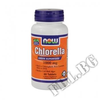 Съдържание » Цена » Прием » Chlorella 1000 мг - 60 таблетки