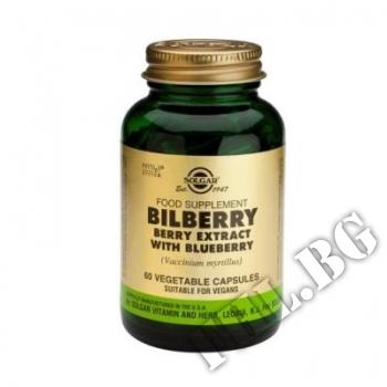 Действие на Solgar Bilberry Berry Extract with Blueberry мнения.Най-ниска цена от Fhl.bg-хранителни добавки София