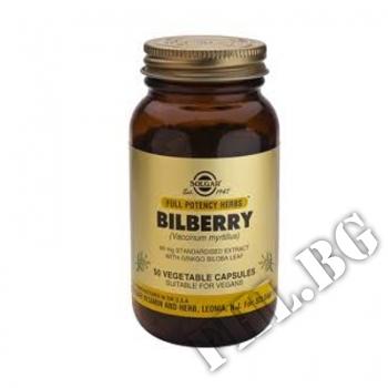 Действие на Solgar Bilberry Extract 60mg with Ginkgo Biloba Leaf мнения.Най-ниска цена от Fhl.bg-хранителни добавки София