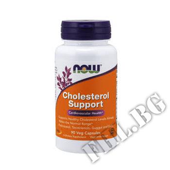 Съдържание » Цена » Прием » Cholesterol Support - 90 капсули