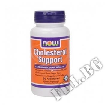 Действие на Cholesterol Support - 90 капсули мнения.Най-ниска цена от Fhl.bg-хранителни добавки София