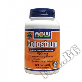 Съдържание » Цена » Прием » Colostrum 500 мг NF