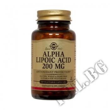 Действие на Alpha Lipoic Acid 200 мг мнения.Най-ниска цена от Fhl.bg-хранителни добавки София