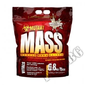 Съдържание » Цена » Прием »  Mutant Mass Gainer Cookies & Cream