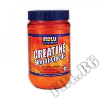 Действие на Creatine Monohydrate Прах - 600 гр мнения.Най-ниска цена от Fhl.bg-хранителни добавки София