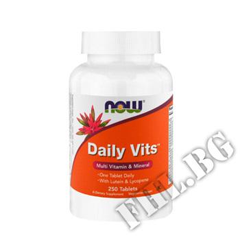Съдържание » Цена » Прием » Daily Vits 250 tab