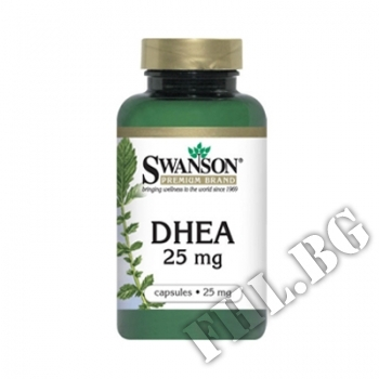 Съдържание » Цена » Прием » DHEA 25mg. / 30 Caps.