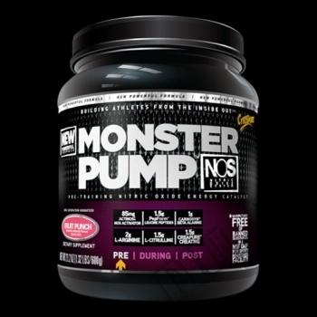 Действие на CytoSport Monster Pump NOS мнения.Най-ниска цена от Fhl.bg-хранителни добавки София