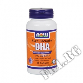 Съдържание » Цена » Прием » DHA 100 мг Kid's Chewable