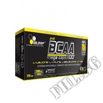 Съдържание » Цена » Прием »  OLIMP BCAA Mega Caps 1100mg. / 120 Caps.