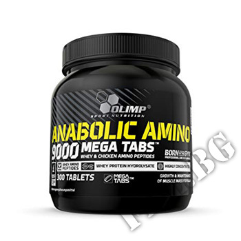 Съдържание » Цена » Прием » Anabolic Amino Mega Tabs 9000