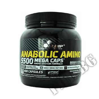 Съдържание » Цена » Прием » Anabolic Amino 5500 Mega Caps 400