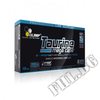 Съдържание » Цена » Прием » OLIMP Taurine Mega Caps 1500 mg.