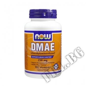 Действие на DMAE 250 мг - 100 капсули мнения.Най-ниска цена от Fhl.bg-хранителни добавки София