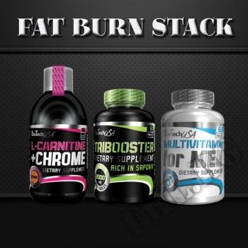 Съдържание » Цена » Прием » Fat Burn stack