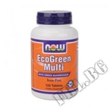 Действие на EcoGreen Multi 120 tab мнения.Най-ниска цена от Fhl.bg-хранителни добавки София