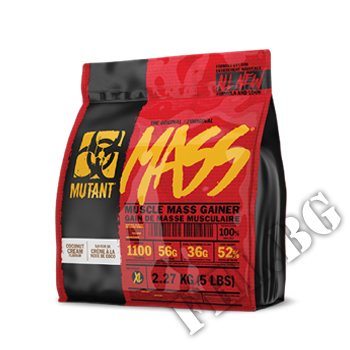 Съдържание » Цена » Прием »  Mutant Mass Gainer 2.2kg-ванилия