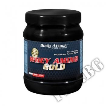 Действие на Whey Amino Gold Body Attack мнения.Най-ниска цена от Fhl.bg-хранителни добавки София