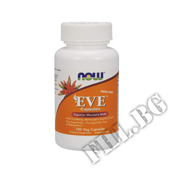 Действие на Eve Women's Vitamins - 120 caps мнения.Най-ниска цена от Fhl.bg-хранителни добавки София