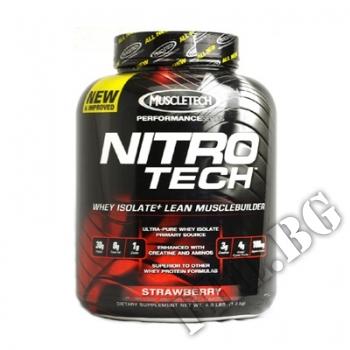 Действие на Nitrotech Performance Series 4lbs-ягода мнения.Най-ниска цена от Fhl.bg-хранителни добавки София