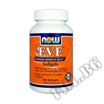 Действие на Eve Women's Vitamins 180 tab мнения.Най-ниска цена от Fhl.bg-хранителни добавки София