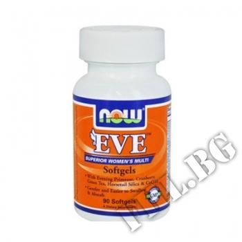 Действие на  Eve Women's Vitamins 90 softgels мнения.Най-ниска цена от Fhl.bg-хранителни добавки София