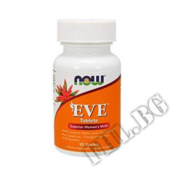 Действие на Eve Women's Vitamins 90tab мнения.Най-ниска цена от Fhl.bg-хранителни добавки София