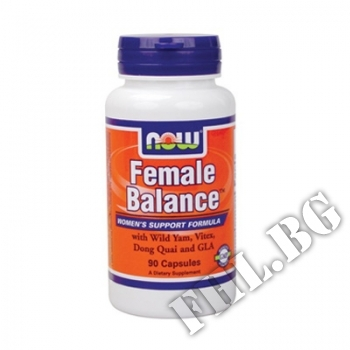 Съдържание » Цена » Прием » Female Balance - 90 капсули