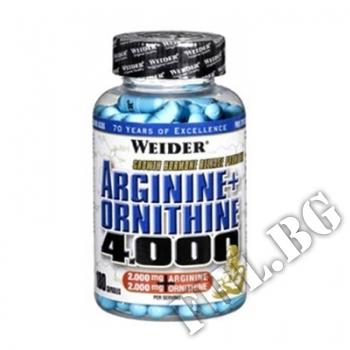 Действие на Arginine + Ornithine 4000 мнения.Най-ниска цена от Fhl.bg-хранителни добавки София