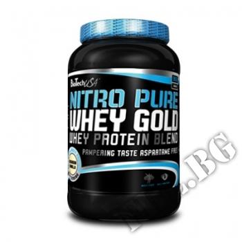 Действие на  Nitro Pure Whey Gold 908 gr мнения.Най-ниска цена от Fhl.bg-хранителни добавки София