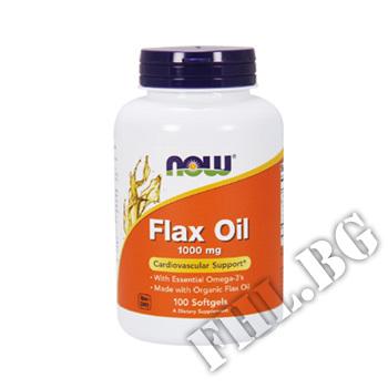 Съдържание » Цена » Прием » Flax Oil 1000 мг - 100 дражета